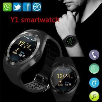 3e844384990 Relógio inteligente smartwatch y1 android - Morgadosp