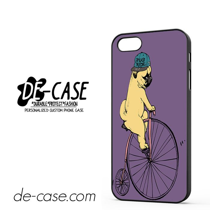 Pug Ride Riding Bike DEAL-8966 Apple Phonecase Cover For Iphone SE Case