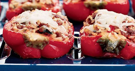 America's Test Kitchen shares their recipe for classic stuffed bell peppers.