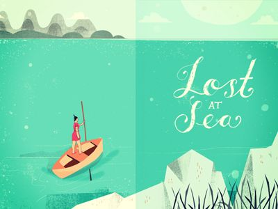 Lost At Sea by Tess Donohoe