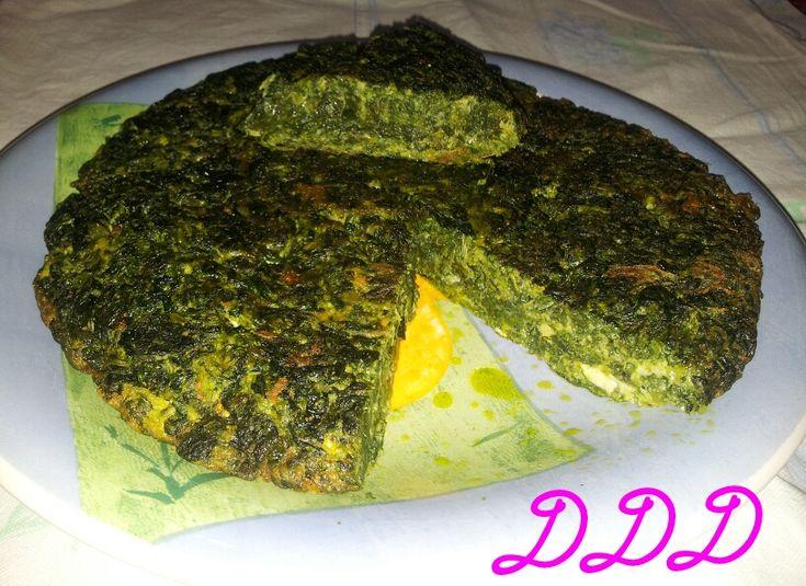 Frittata di spinaci https://deliziadeldi.wordpress.com/2015/02/26/frittata-di-spinaci/