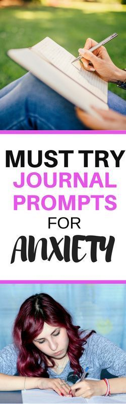 Try these journal prompts to help cope with anxiety and alleviate symptoms