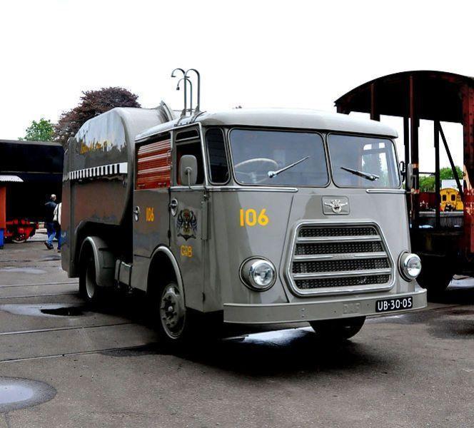 DAF UB-30-05 roltrommel vuilnisauto