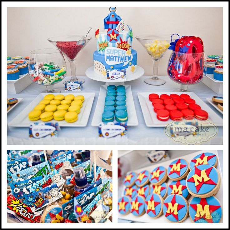Superhero treats. Pinned for Kidfolio, the parenting mobile app that makes sharing a snap!
