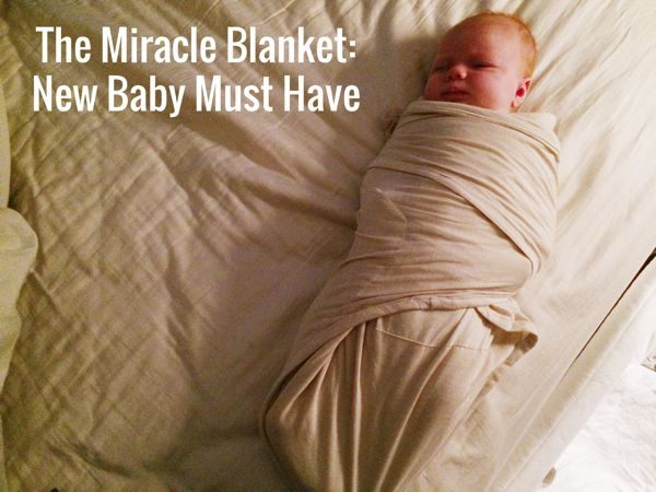 The Miracle Blanket | Baby Gift | Baby Must Have