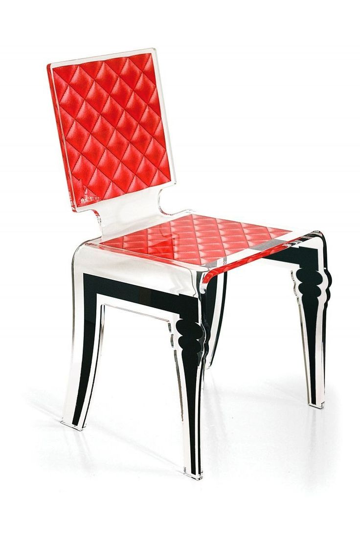 9 best acrila meubles design images on pinterest for Chaise plexiglass design
