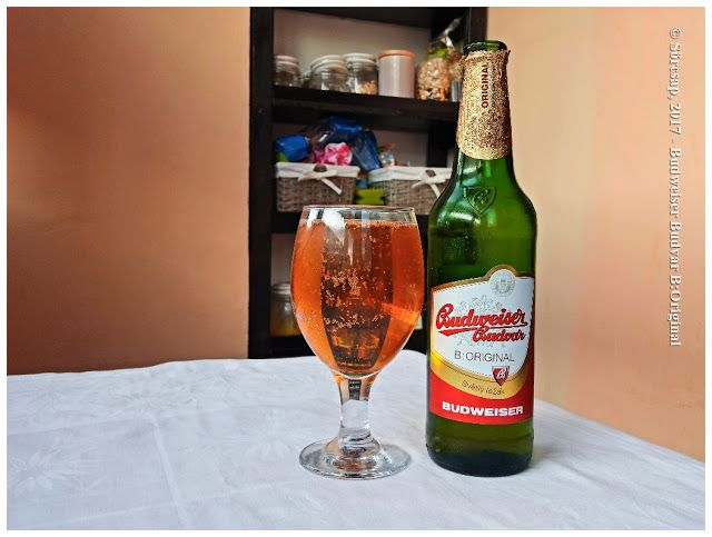 Sörcsap: Budweiser Budvar B:Original