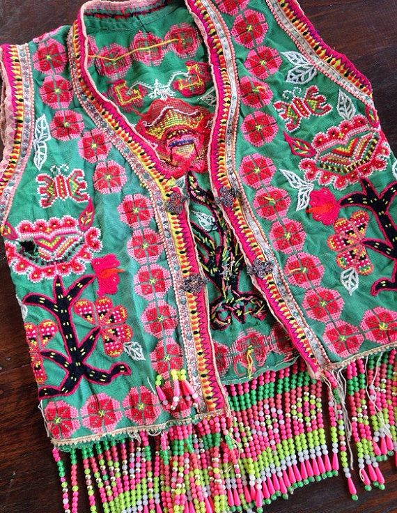 Vintage Hmong hilltribe Clothing Vintage by KutchiKooTribe on Etsy