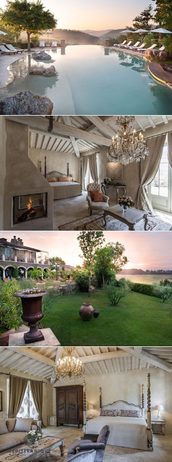 25 Most Luxurious Hotels Worth the Money Borgo Santo Pietro, luxury hotel in Tuscany www.mediteranique...