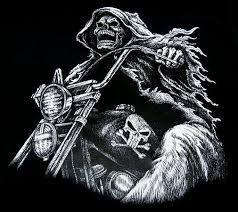 skeleton riding motorcycle tattoo - Google Search