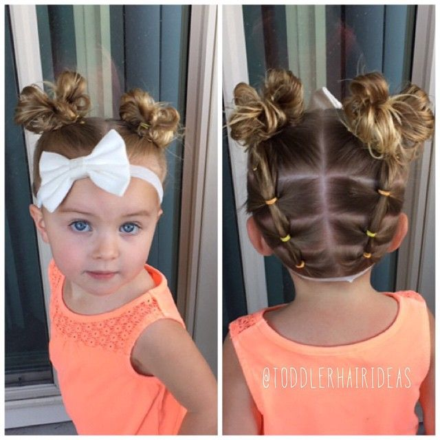 Cute Hairstyles For Girls With Short Hair Simple 41 Best Little Girl Hairstyles Images On Pinterest  Hair Dos