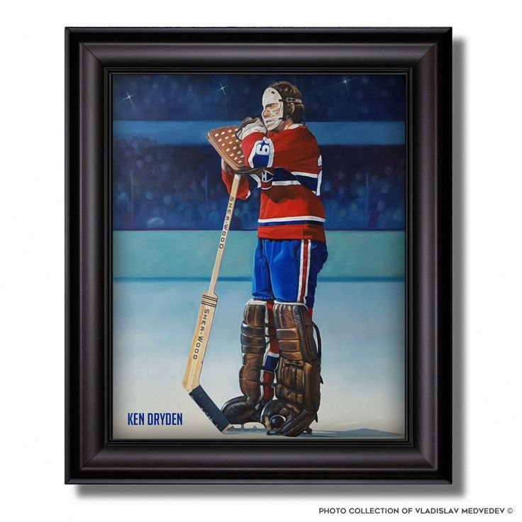 Кен Драйден / Ken Dryden #icehockey #nhl #montrealcanadiens #canada #НХЛ #легенда #вратарь #голкипер #канада #goaltender #goalie #хоккейныймузей