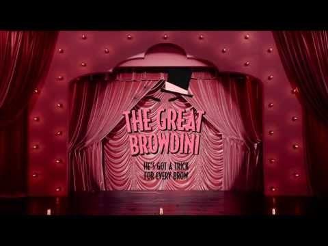 The Great Browdini | brow zings eyebrow shaping kit - YouTube