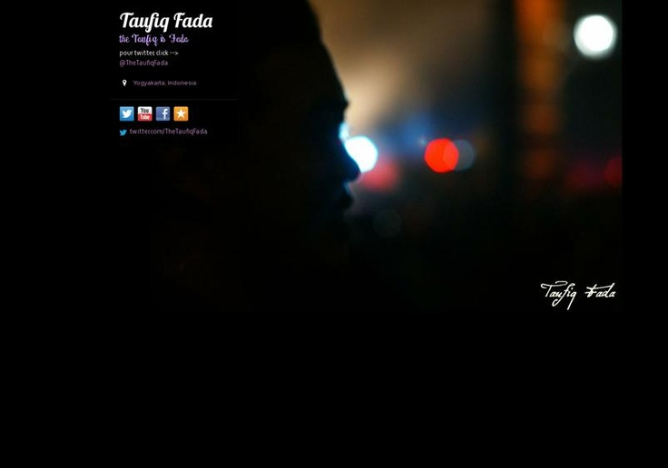 Taufiq Fada's page on about.me – http://about.me/thetaufiqfada