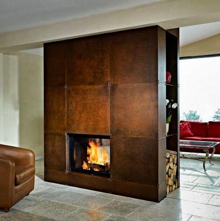 Oltre 25 fantastiche idee su caminetti a legna su for Camino a legna moderno