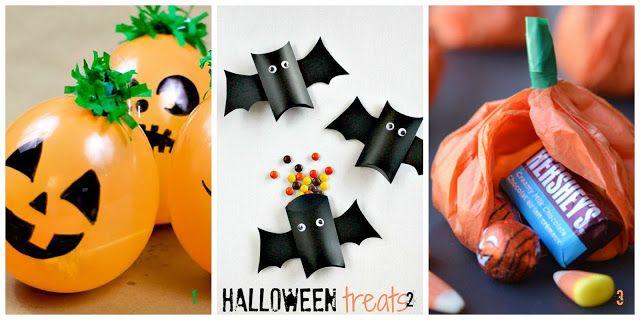donneinpink magazine: Halloween - Sacchetti fai da te per i dolcetti.