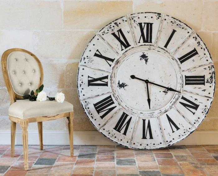 Les 25 meilleures id es de la cat gorie grande horloge sur - Grande horloge murale blanche ...
