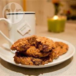 Foto recept: Volkoren ontbijtkoekjes