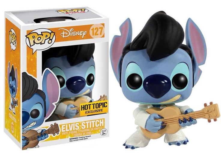 Funko Pop Disney: Lilo & Stitch - Elvis Stitch Exclusive Vinyl Figure