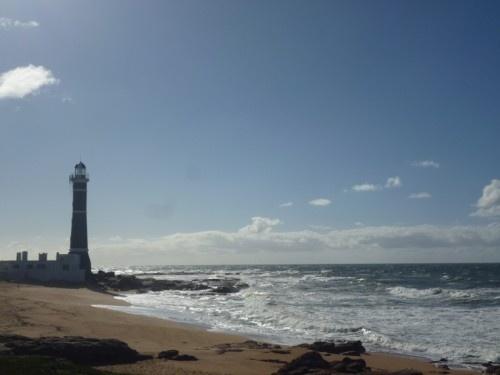 Light houses, bright sunlight, the ocean -  uruguay, beachtour