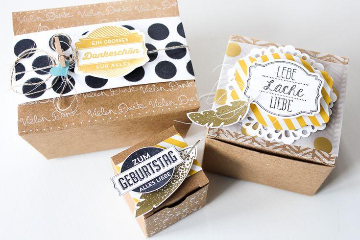 Janna Werner - Geschenkverpackung schnell und einfach #giftwrapping
