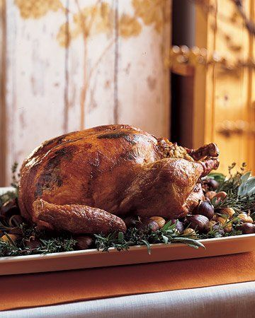 Herb-Roasted Turkey This is our family favorite!