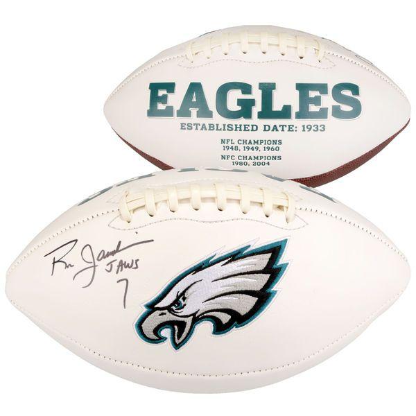 "Ron Jaworski Philadelphia Eagles Fanatics Authentic Autographed White Panel Football with ""Jaws"" Inscription - $129.99"