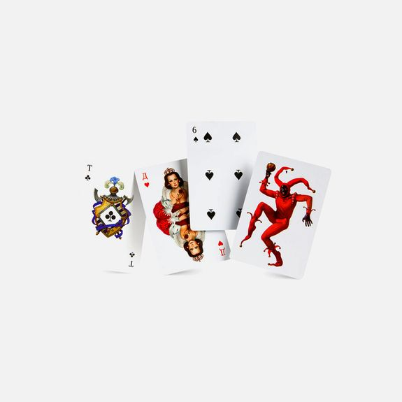 Art.Lebedev Studio - Mafia – Playing Cards