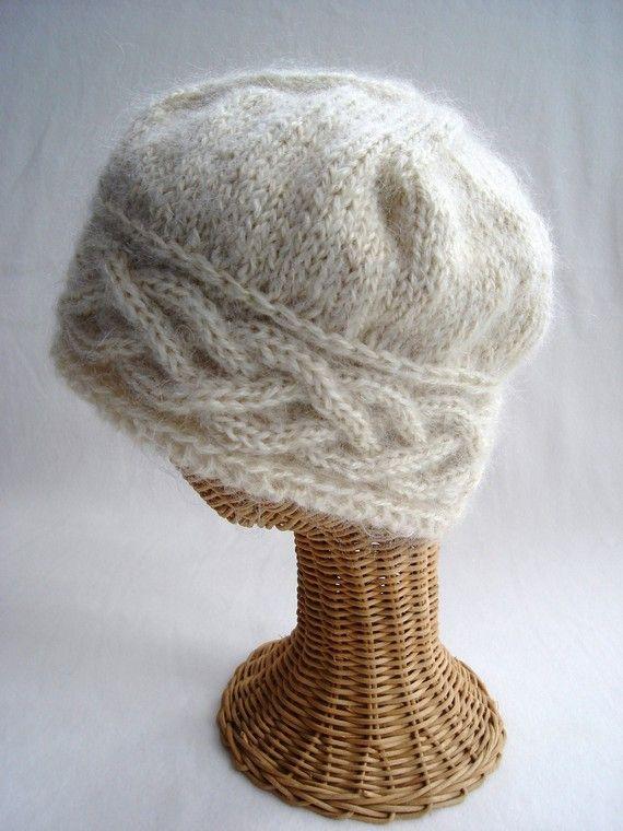 mohair knit hat