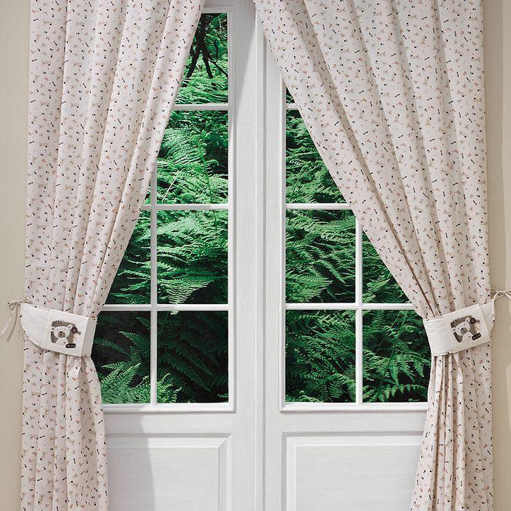 Bebek Odası Perdesi - My Bear 140 X 260 cm boyutlarında. #bebekodası #perde #dekorasyon   #dekoratif #curtain #bebekodasıdekorasyon