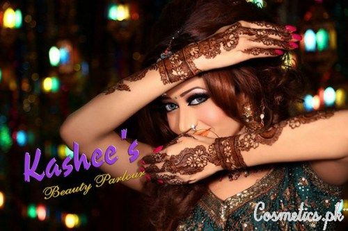 Latest Dulhan Makeup by Kashee's Beauty Parlour 2015
