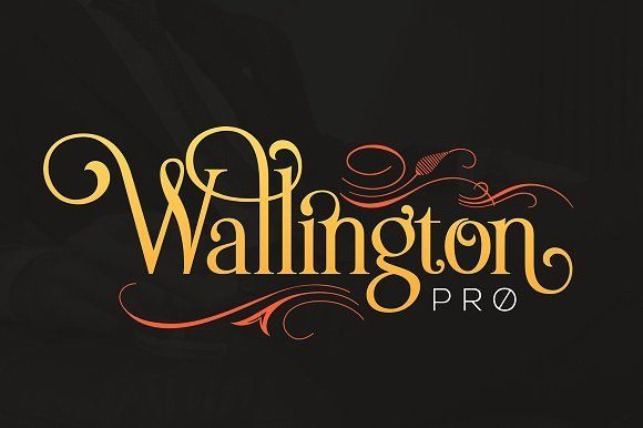 The Wallington Pro by Zeune Ink Foundry on @creativemarket