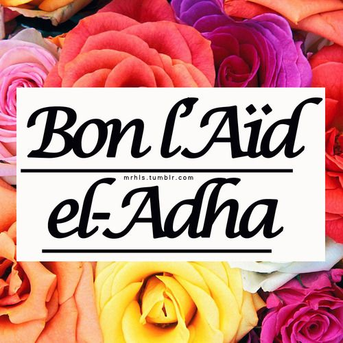 Bon l'Aïd el Adha