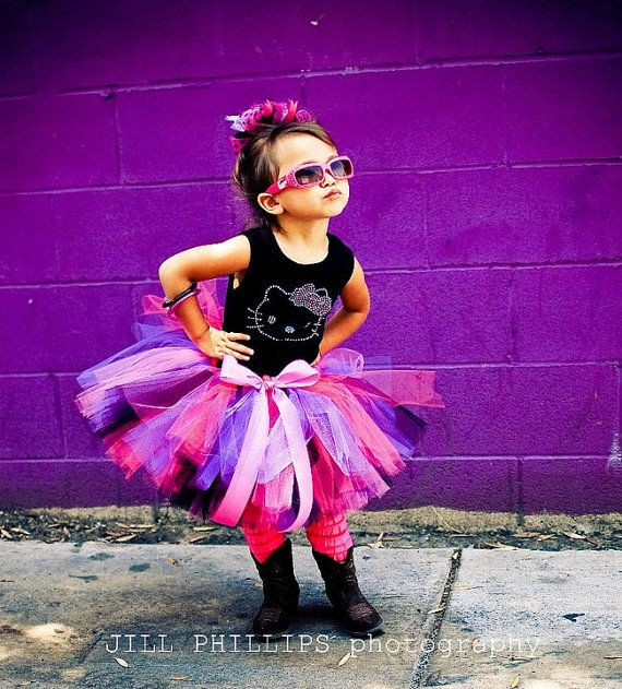 The Rockin Marli Hello Kitty tutu set  Includes by KirrasBoutique