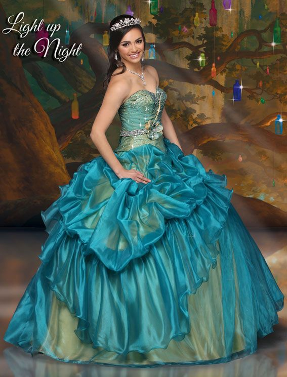 Vestidos de quinceañera estilo princesa 2016 de Impression Bridal