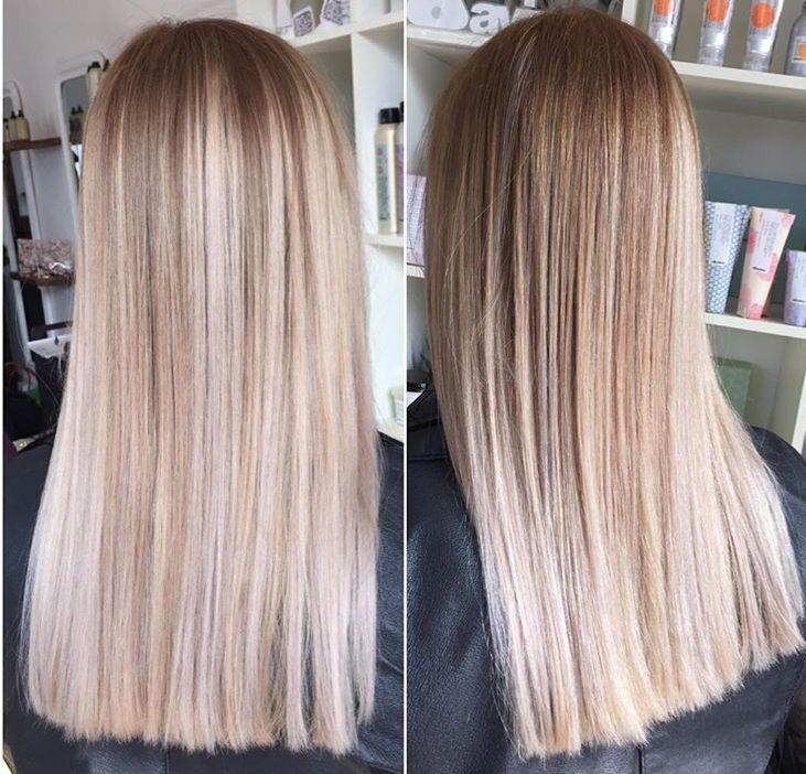 Ash Blonde Flamboyage Hair Pinterest