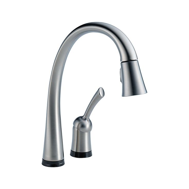 980t Ar Dst Pilar Single Handle Pull Down Kitchen Faucet With Touch2o Technology Kitchen