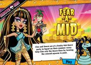 Monster High Fear a Mid | Juegos Monster High - jugar online