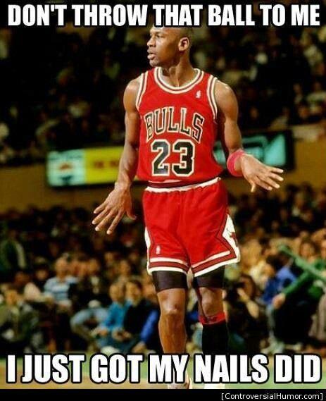 Basketball players be like
