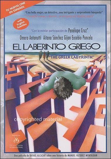 "Aitana Sánchez Gijón. ""El laberinto griego"" 1991.."