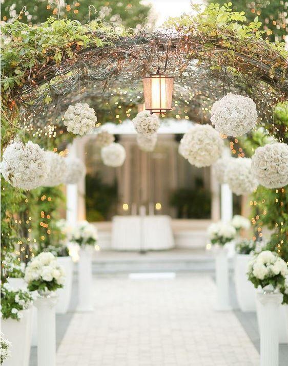 Hochzeit Eingang Dekor Ideen 2016