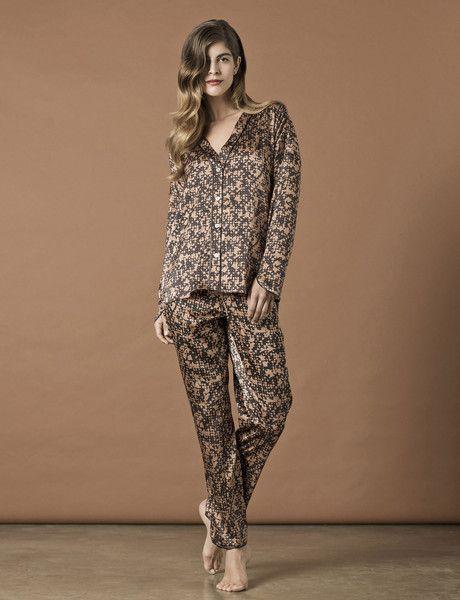 Luxury Sleepwear : Venice Print Pyjamas