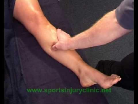 Sports Massage for Shin Pain / shin splints