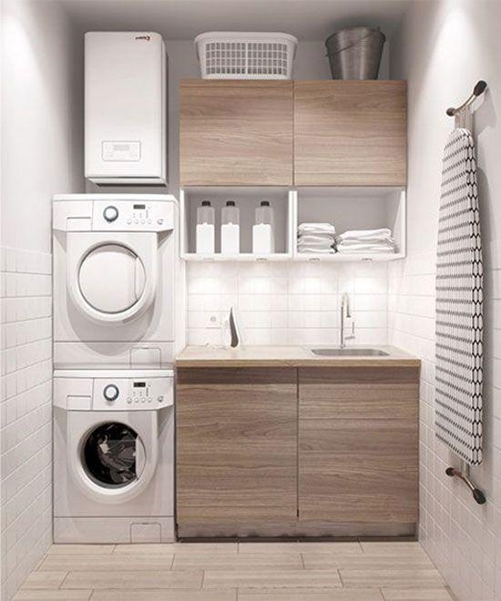 5 Ideas para conseguir una lavandería práctica y funcional en casa | DecoracionHoy.com