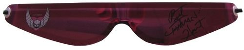 Bret The Hitman Hart Signed Pink Sunglasses JSA