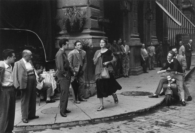 Iconic photo taken on the streets on Italy. Happy 60th bday.
