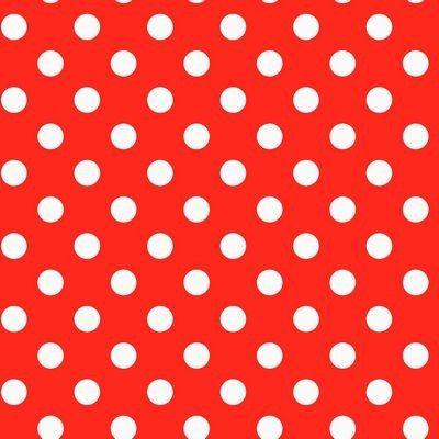 Plakfolie polkadot stippen rood