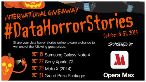 #datahorrorstories ? our phone automatically logging on while in my purse  #operamax #Giveaway  Android Phone & Tablet #Giveaway - #Worldwide #Contests & #Giveaways #International - October 31: Nexus 9, Moto X (2014) & Moto 360 Smartwatch