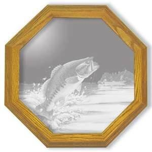 Image Detail For B Fishing Decor Unique Etched Mirrors
