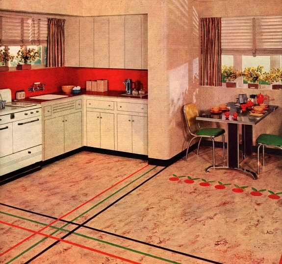 75 best linoleum dreams images on pinterest | vintage kitchen